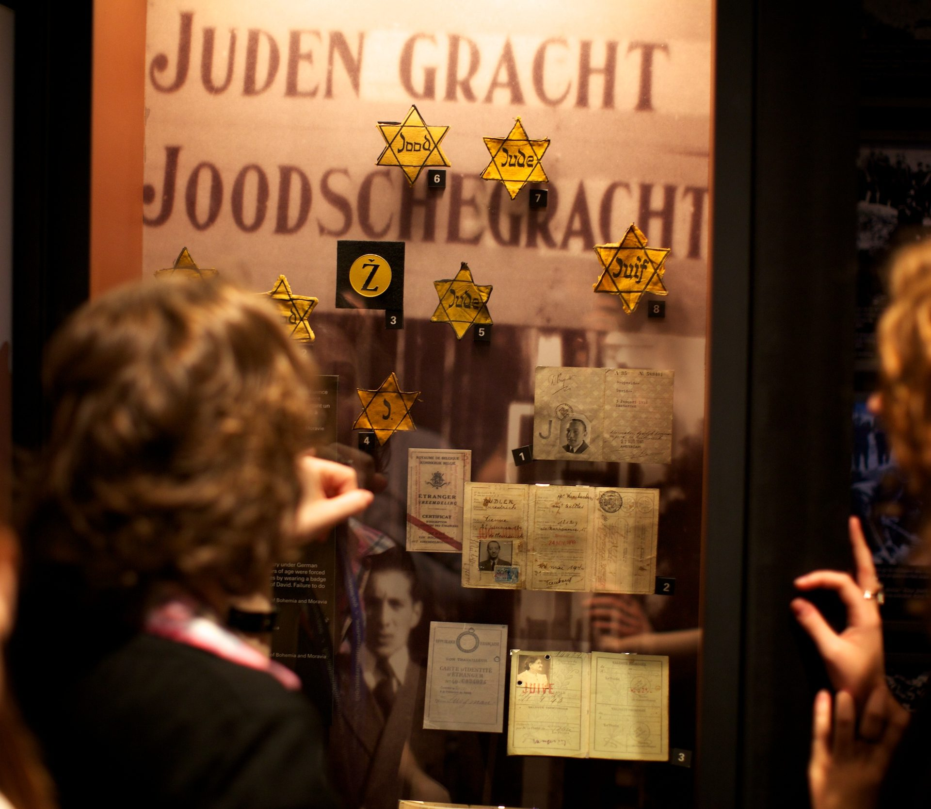Identification of Jews throughout Nazi-occupied Europe. Photo: Vadim Daniel