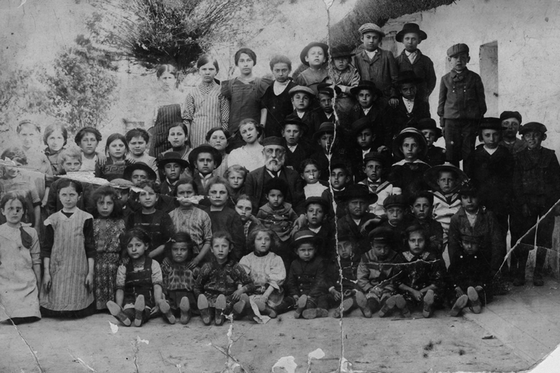 Jewish students, Hungary, 1939.