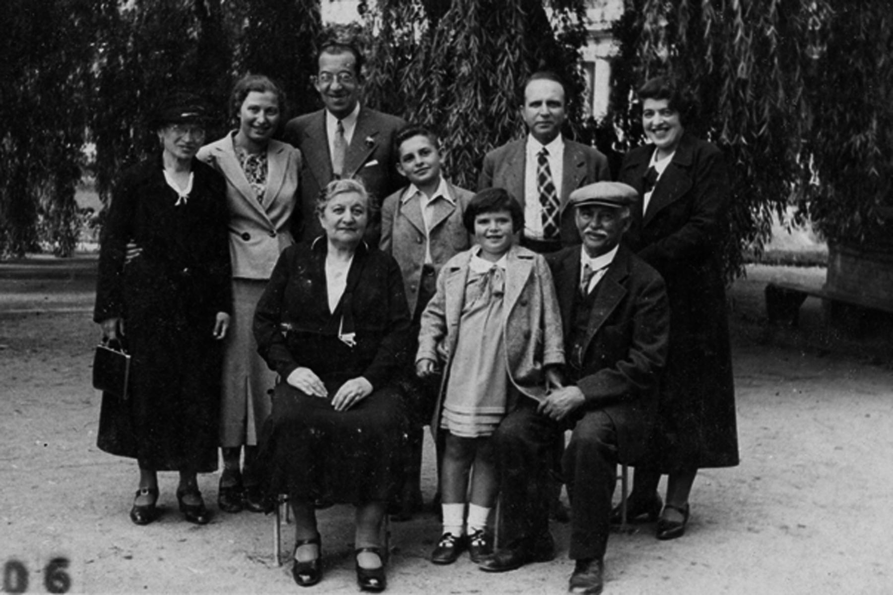 Novak family in the Czech Republic, 1935.