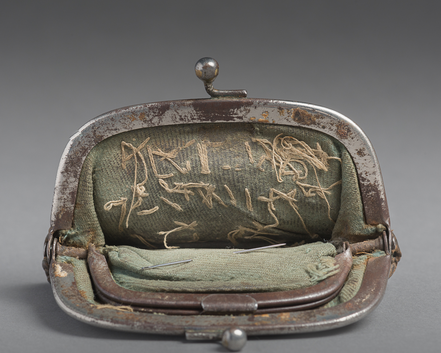 Despite the difficulty in doing so, Paul hid this wallet while imprisoned in the Dachau and Bergen-Belsen camps in Germany. (Photo: Peter Berra)
