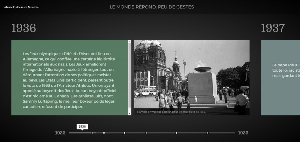 Chronologie sur la réaction du monde durant l'Holocauste