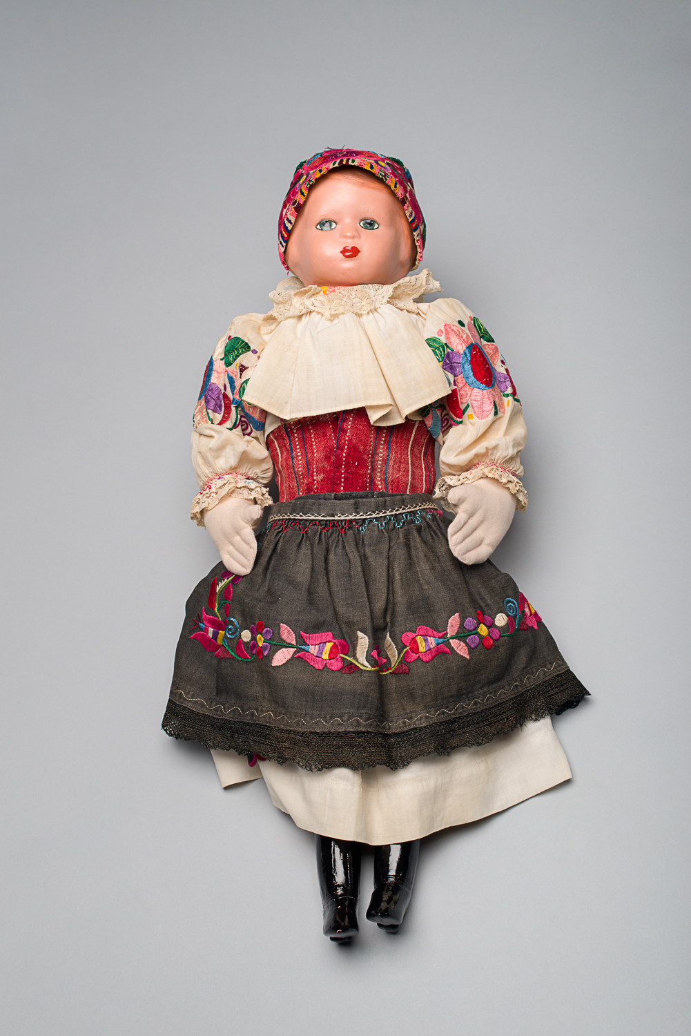 Daisy received the doll when she was two years old and named her Tonicska. (Photo: Peter Berra)