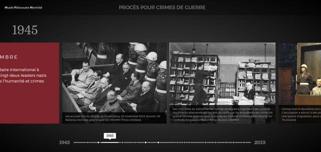 Procès des crimes de guerre durant l'Holocauste