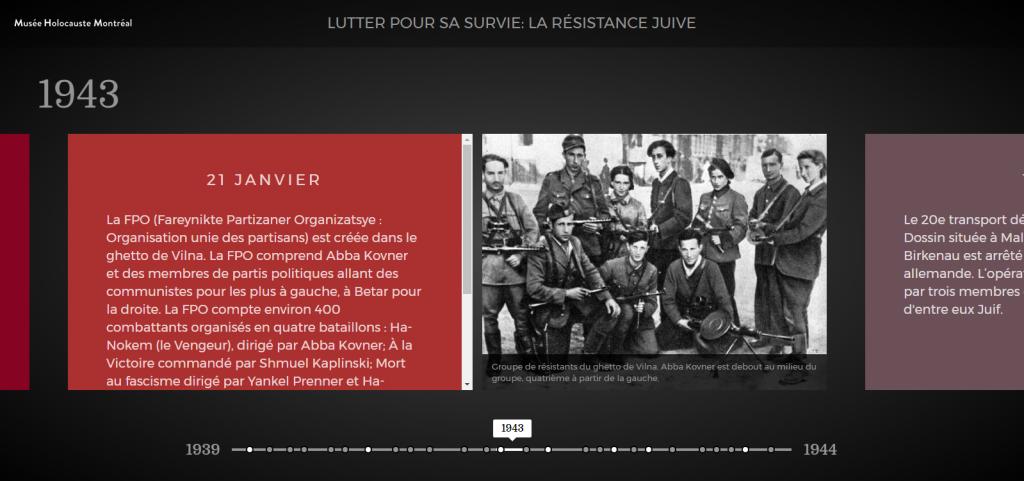 résistance juive durant l'Holocauste