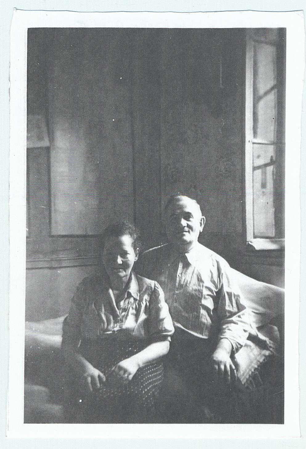 Emilia Korobiec et son mari ont caché les parents de Sonia et d'Ariye Smolnik durant la guerre.