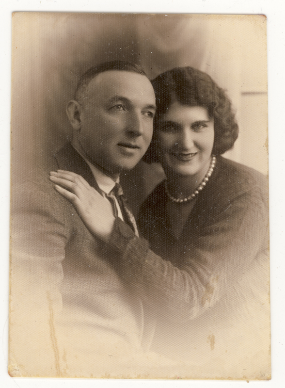 Celinka's parents, Chana and Szygmundt Zilberbogen, before the war.