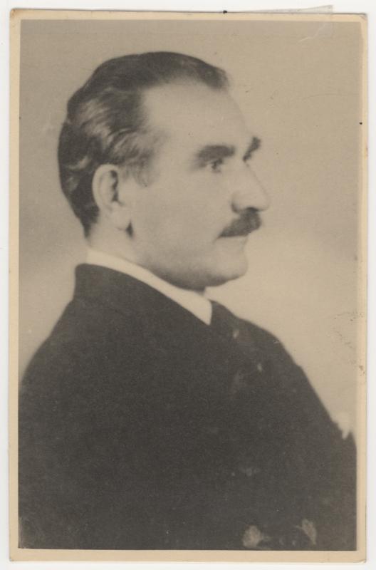 Un portrait d'Édouard Fréderic Satz vers 1929.