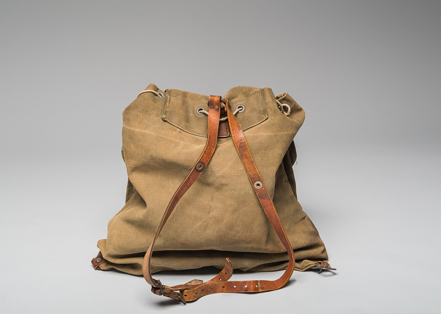 Helen, a friend of Joseph's, kept the knapsack after his death and learning of his family's death during the Holocaust. (Photo: Peter Berra)