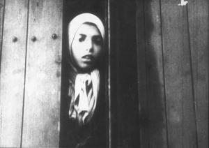 Settela Steinbach dans un train de déportation vers Auschwitz. @United States Holocaust Memorial Museum / Nederlands Instituut voor Beeld en Geluid