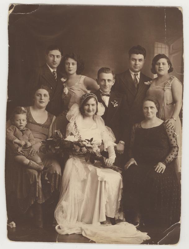 Mariage juif à Paris, 1933.