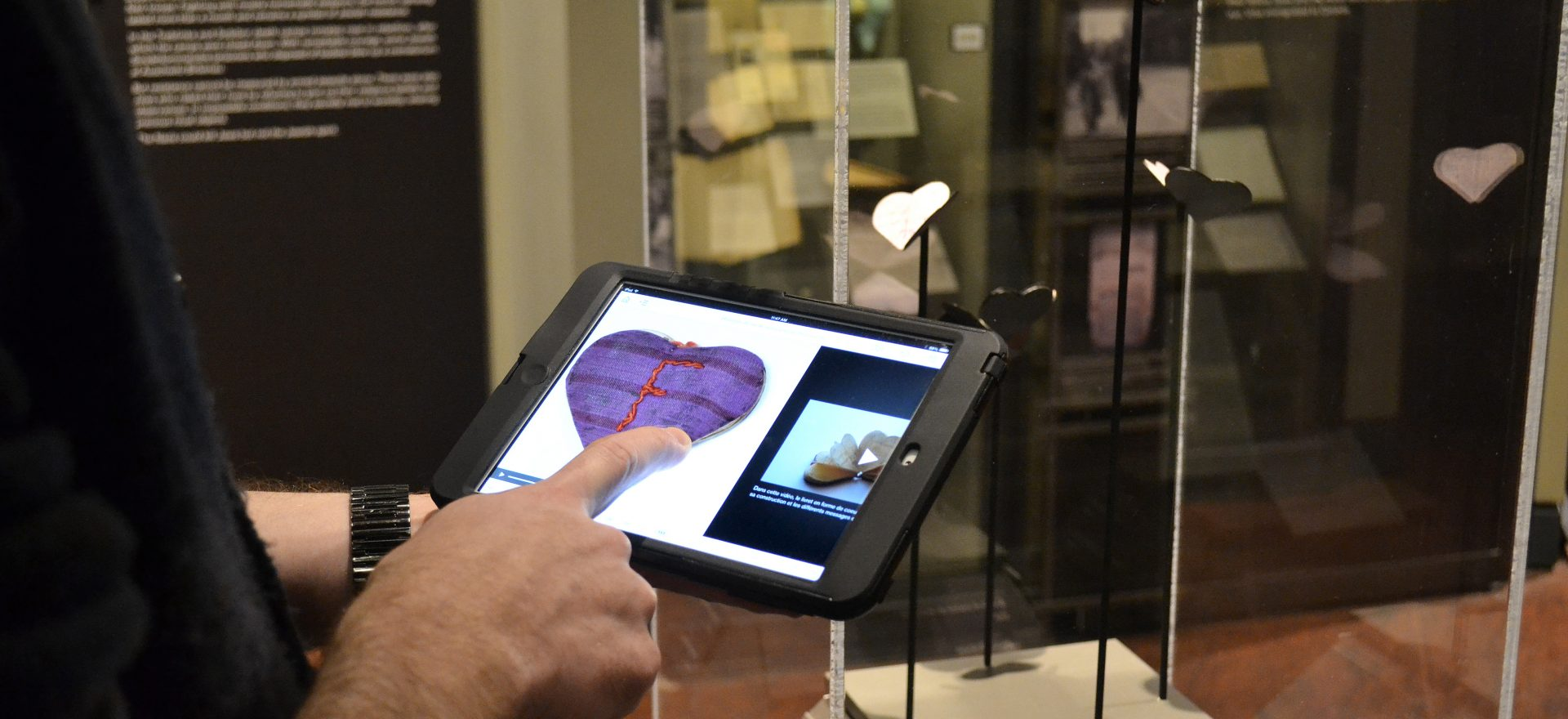 "The Montreal Holocaust Museum app presents three different tours of its permanent exhibition: ""Life Stories of Holocaust Survivors"", ""Children and Teenagers during the Holocaust"" and ""Deconstructing Genocide""."