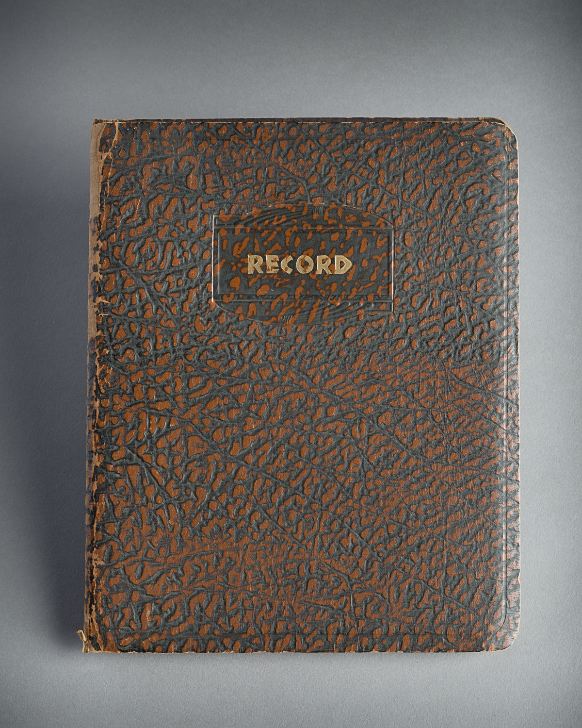 Diary that belonged to Sydney Howard Selig. He wrote it between June and October 1941 when he was a guard in an internment camp near Sherbrooke, Quebec. (Photo: Peter Berra)