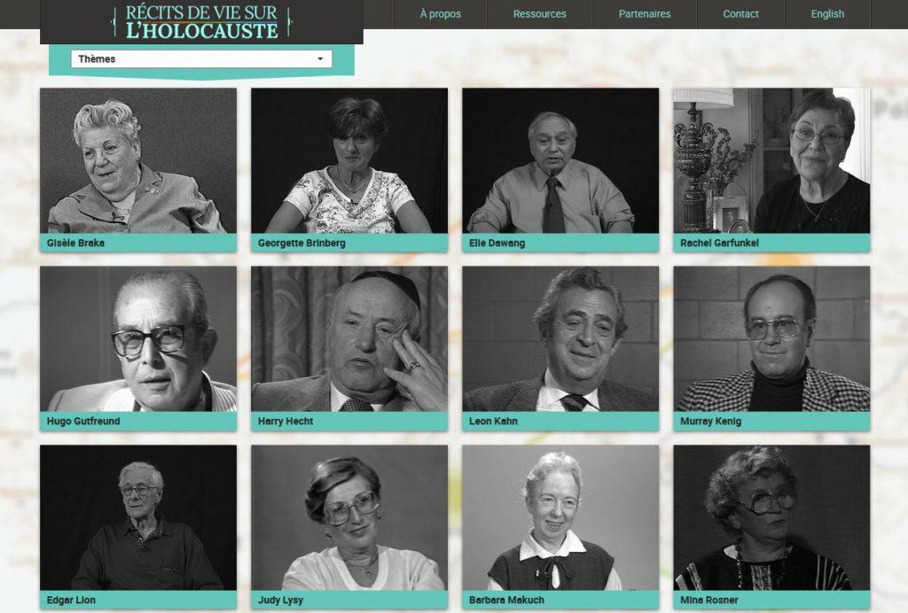 Récits de vies sur l'Holocauste