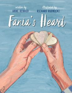 Cover of the book, Fania's Heart written by Anne Renaud