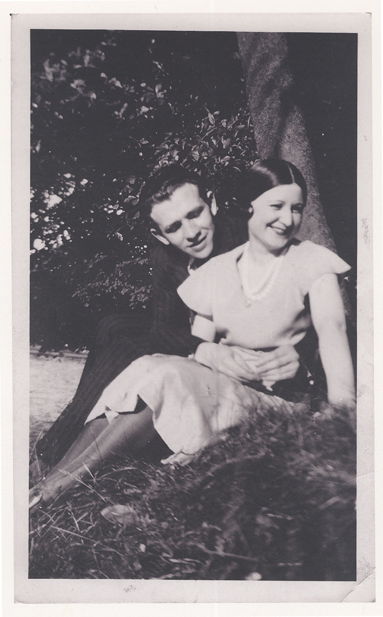 Marcel Tenenbaum's parents in 1930.