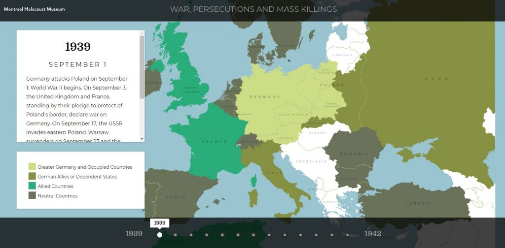 War, persecutions and mass_killings - Holocaust interactive timeline