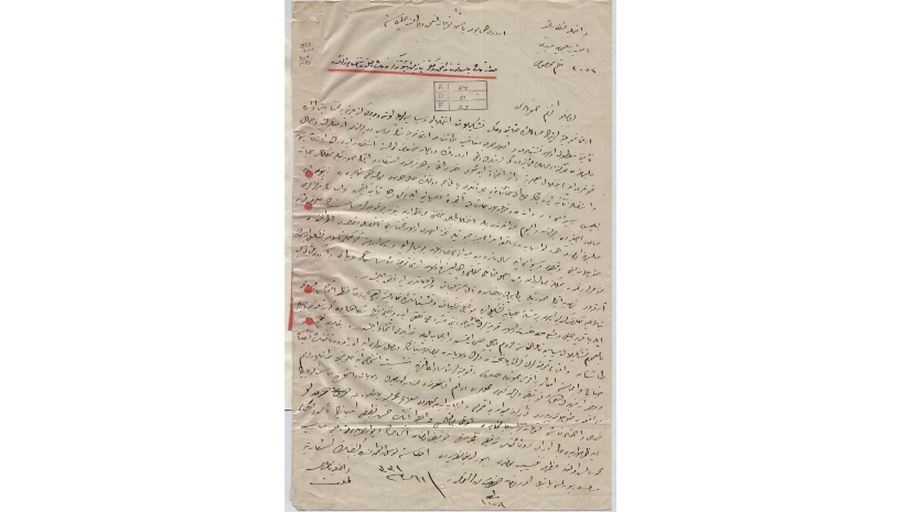 Stage 5 : Organisation. On April 24, 1915, the Minister of Internal Affairs of the Ottoman Empire issued an order to arrest influential Armenians. The community's elite were eliminated within a few weeks. Source : Ottoman Archives