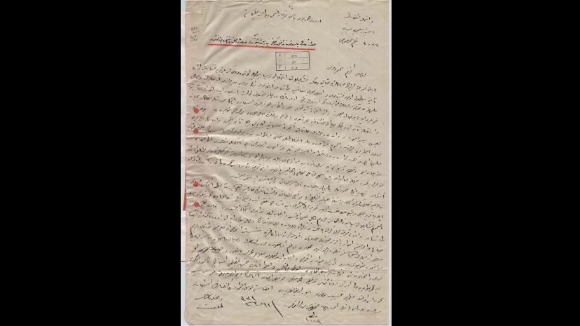Étape 5 : Organisation. Le 24 avril 1915, le Ministre des Affaires internes de l'empire ottoman émet l'ordre d'arrêter les notables arméniens. L'élite de la communauté sera éliminée en quelques semaines. Source : Ottoman Archives