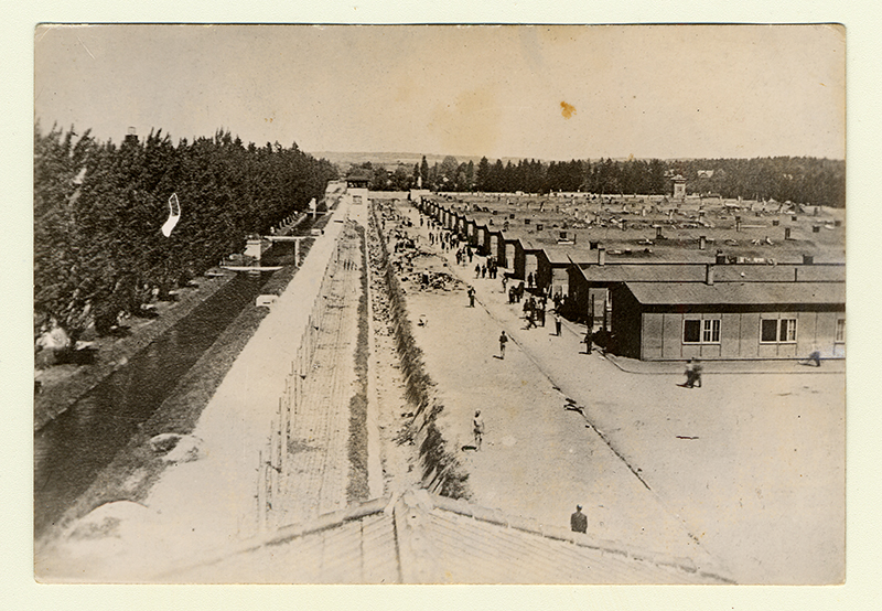 Dachau concentration camp, Germany. Montreal Holocaust Museum's Collection.
