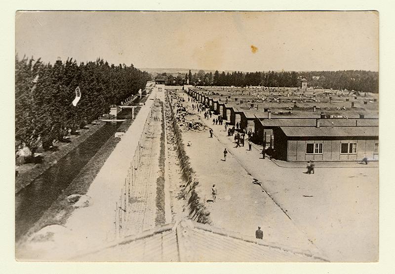Camp de concentration de Dachau, Allemagne. Collection du Musée de l'Holocauste Montréal.