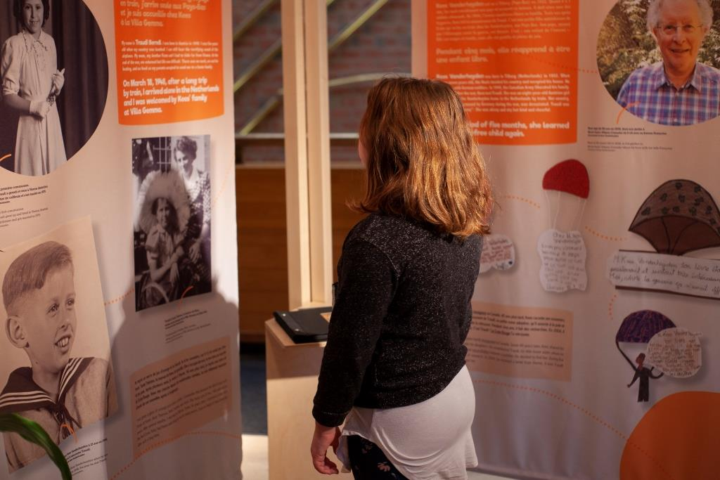 Tell Me A Story! Youth Literature and the Holocaust. © Montreal Holocaust Museum. Photographer Stéphanie Cousineau-Bourassa