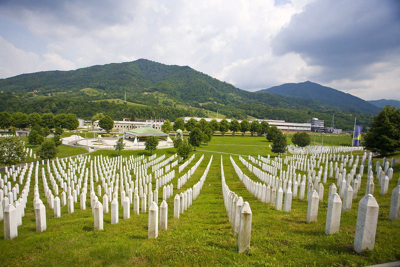 Génocide des Musulmans de Bosnie - Mémorial du génocide de Srebrenica