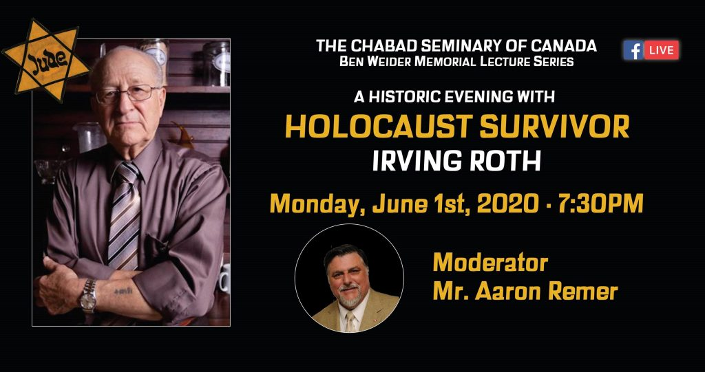 Conference with Irving Roth