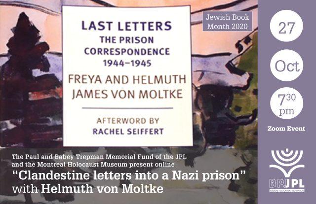 Clandestine letters into a Nazi prison with Helmuth von Moltke