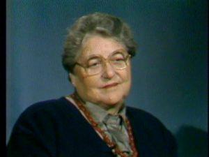 Holocaust survivor Judith Levitan